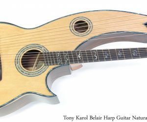 Karol Belair Harp Guitar Natural, 2021