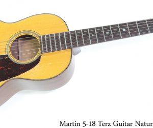Martin 518 Terz Guitar Natural, 1955