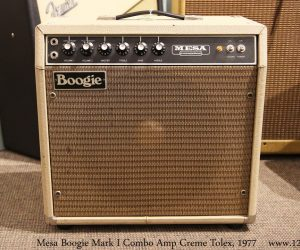 ❌SOLD❌Mesa Boogie Mark I Combo Amp Creme Tolex, 1977