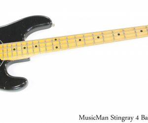 MusicMan Stingray 4 Bass Black, 1978