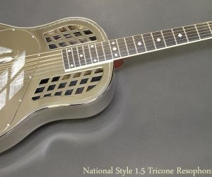 National Style 1.5 Tricone Resophonic Guitar