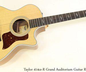 Taylor 414ce R Grand Auditorium Guitar Rosewood