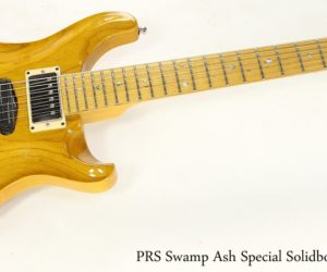 PRS Swamp Ash Special Solidbody Natural, 2002