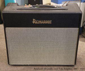 ❌ SOLD❌  Reinhardt 18 Combo 1x12 Tube Amplifier, 2007