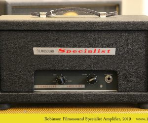 Robinson Filmosound Specialist Amplifier, 2019