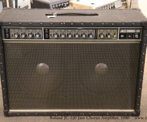 Roland JC120 Jazz Chorus Amplifier, 1990