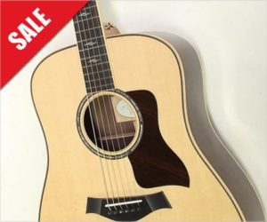 ‼Off The MAP Sale‼ Taylor 810 Indian Rosewood Dreadnought, 2015