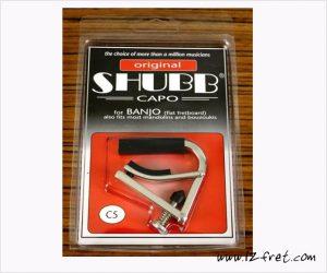 Shubb C5 Banjo Capo - Standard