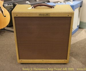 ❌SOLD❌ Sonny Jr Harmonica Amp Tweed 4x8, 2003