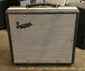Supro 1610RT Comet Tube Combo Amplifier, 2018