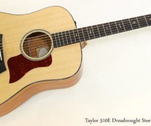 Off the Map!  Taylor 510E Dreadnought Steel String, 2016