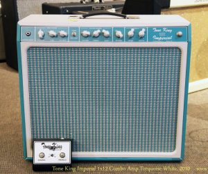 ❌SOLD❌ Tone King Imperial 1x12 Combo Amp Turquoise-White, 2010
