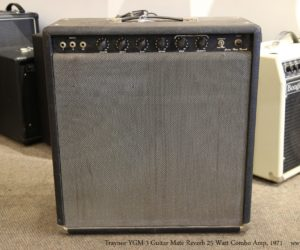 ❌SOLD❌  Traynor YGM-3 Guitar Mate Reverb 25 Watt Combo Amp, 1971