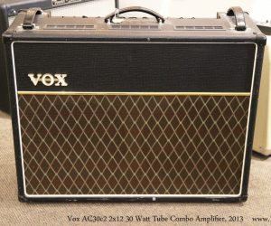 ❌SOLD❌ Vox AC30c2 2x12 30 Watt Tube Combo Amplifier, 2013