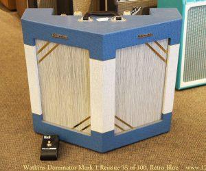 Watkins Dominator Mark 1 Reissue 35 of 100, Retro Blue
