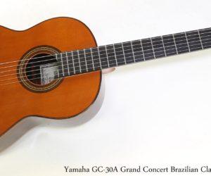 Yamaha GC30A Grand Concert Brazilian Classical, 1982